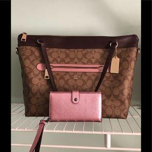 Tyler handbag and wallet
